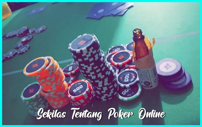 Artikel Sekilas Mengenai Poker Online